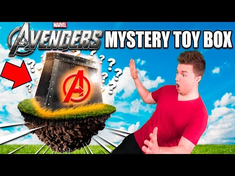 MYSTERY TOYS BOX AVENGERS INFINITY WAR EDITION!!  Rarest Avengers Toys, Ironman, Thanos & More!