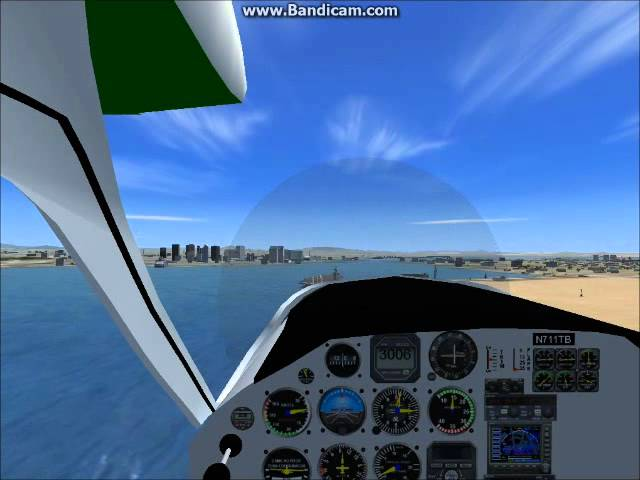 FSX - Tecnam Ultralight (LSA) Landing On Aircraft Carrier