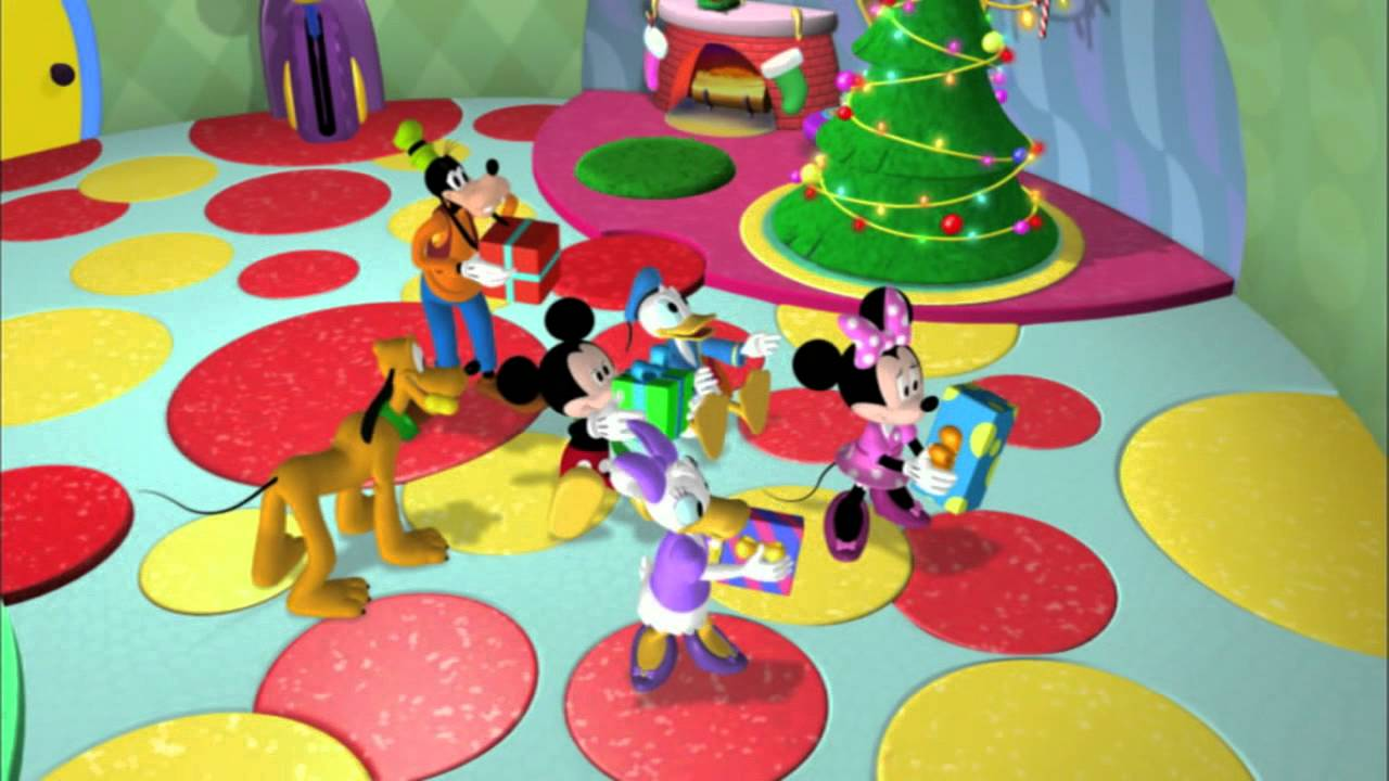 mickeys christmas mornings - Mickey Mouse Clubhouse Christmas