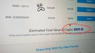 Binance + Nexo = Mas Bitcoin 💱