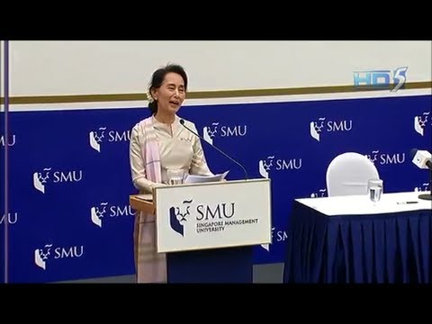 Suu Kyi encourages overseas Myanmar citizens to return home
