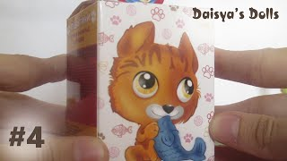 """Сюрприз из Сладкой коробочки #4 - Пушистики """"Котята"""" Sweet Box"""
