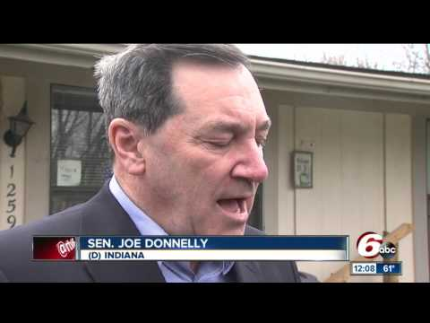 Sen. Joe Donnelly discusses his support of supreme court nominee Neil Gorsuch