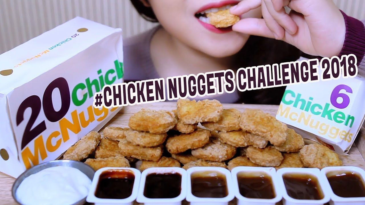 Asmr Mcdonalds Chicken Nuggets Challenge Auzsome Austin And Sas Eating Sounds Linh Asmr