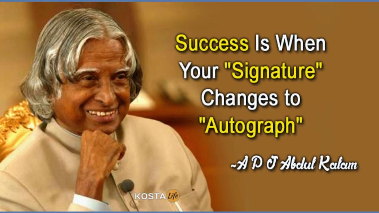 Abdul Kalam Quotes Abdul Kalam Diamond Quotes Youtube