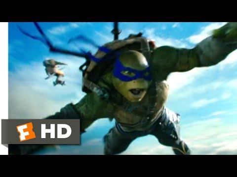 Teenage Mutant Ninja Turtles 2 (2016) - Turtles Can Fly Scene (7/10) | Movieclips