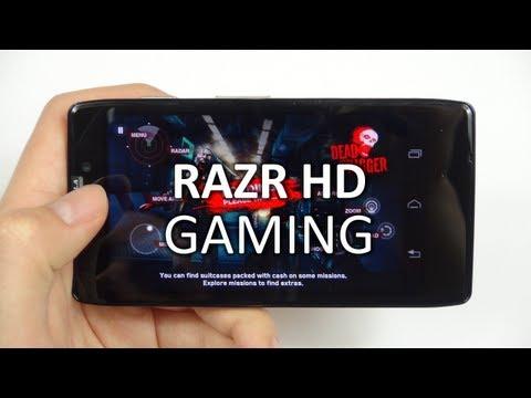 Motorola RAZR HD: Gaming & Spiele