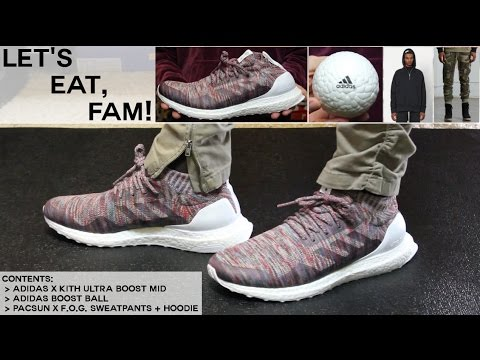 56111fcf74687 Finally Got Adidas Kith Ultra Boosts + Boost Ball!!! Fear of God x PacSun  Collection 2