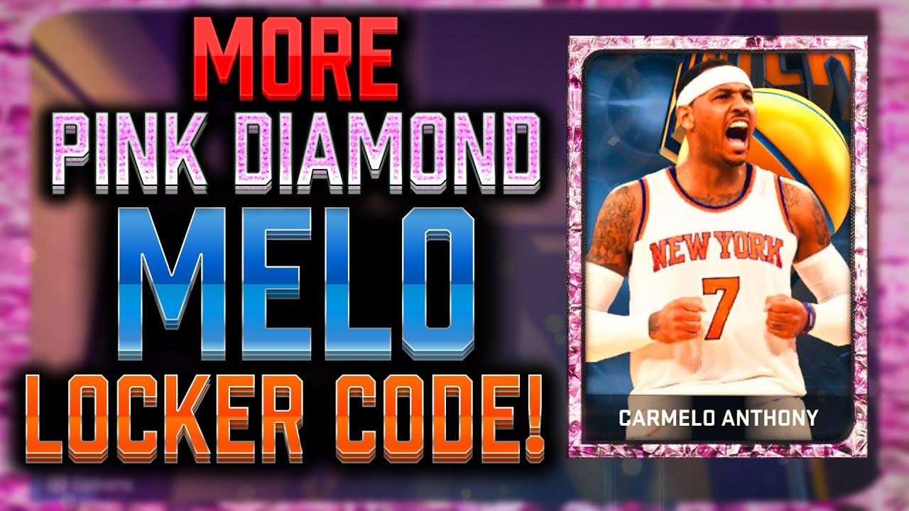 Nba 2k15 Myteam More Pink Diamond Melo Locker Codes Onyx