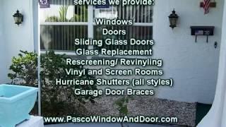 Window Repair, Replacement, Hurricane Shutters, New Port Richey, Spring Hill, Tarpon Springs, Fl