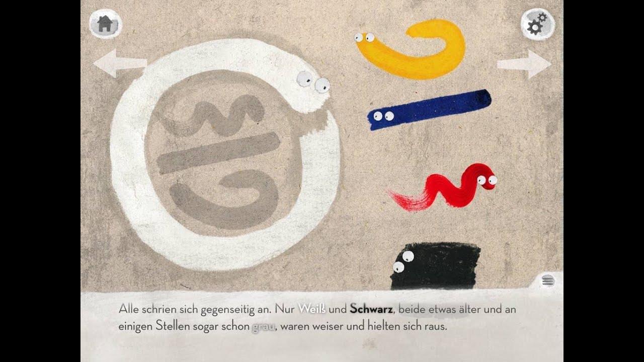 Bescheid Weiß.Weiß Weiß Bescheid App Zum Kinderbuch Geschichte über Farben