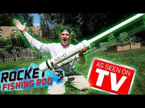 Rocket Fishing Rod On STEROIDS!