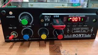 2.1 amplifier for AUTO/TRACTOR moving vehicles price 2600rs/-