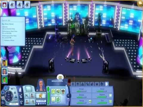 The Sims 3 Showtime : Big show venue concert