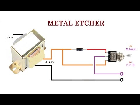 Ultra Simple Metal Etcher.