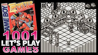 Monster Max (Game Boy) - Let's Play 1001 Games - Episode 438