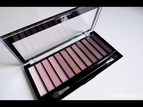 Review:Makeup revolution redemption palette iconic 3