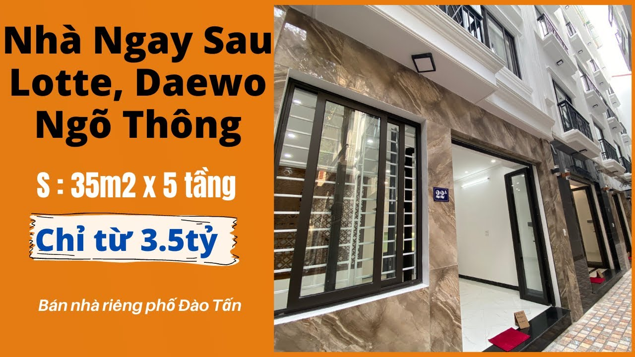 image Bán Nhà Hà Nội Phố Đào Tấn Ngay Sau Tòa Lotte   Bán Nhà Hà Nội 2021