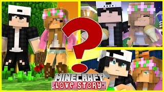 LITTLE KELLY AND RAVEN HAVE REALLY CUTE SURPRISES FOR EACH OTHER | Minecraft  LOVE STORY