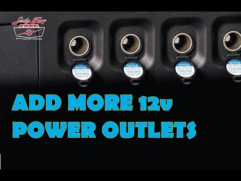 Add more Power Outlets to your car  12volt Cigarette Lighter