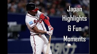 Ronald Acuña Jr. – Japan vs MLB All Stars | Highlights and Fun Moments