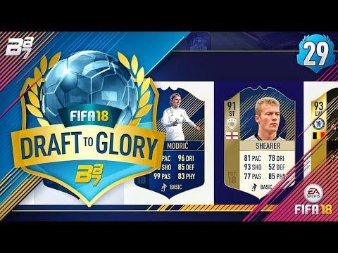 SUPER DRAFT!   FIFA 18 DRAFT TO GLORY #29