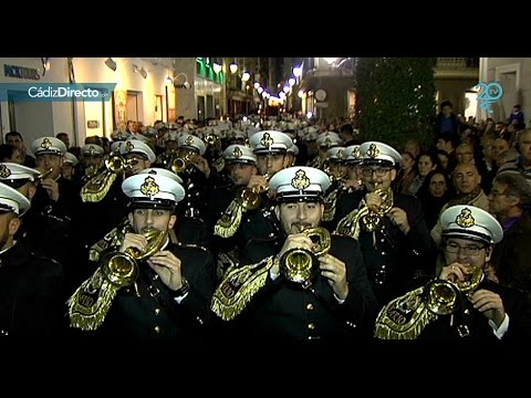 La Banda del Rosario, un lujo para la Semana Santa de Cádiz