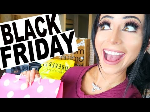 BLACK FRIDAY SHOPPING ADVENTURE!