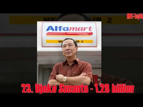 Top 50 Richest Indonesians
