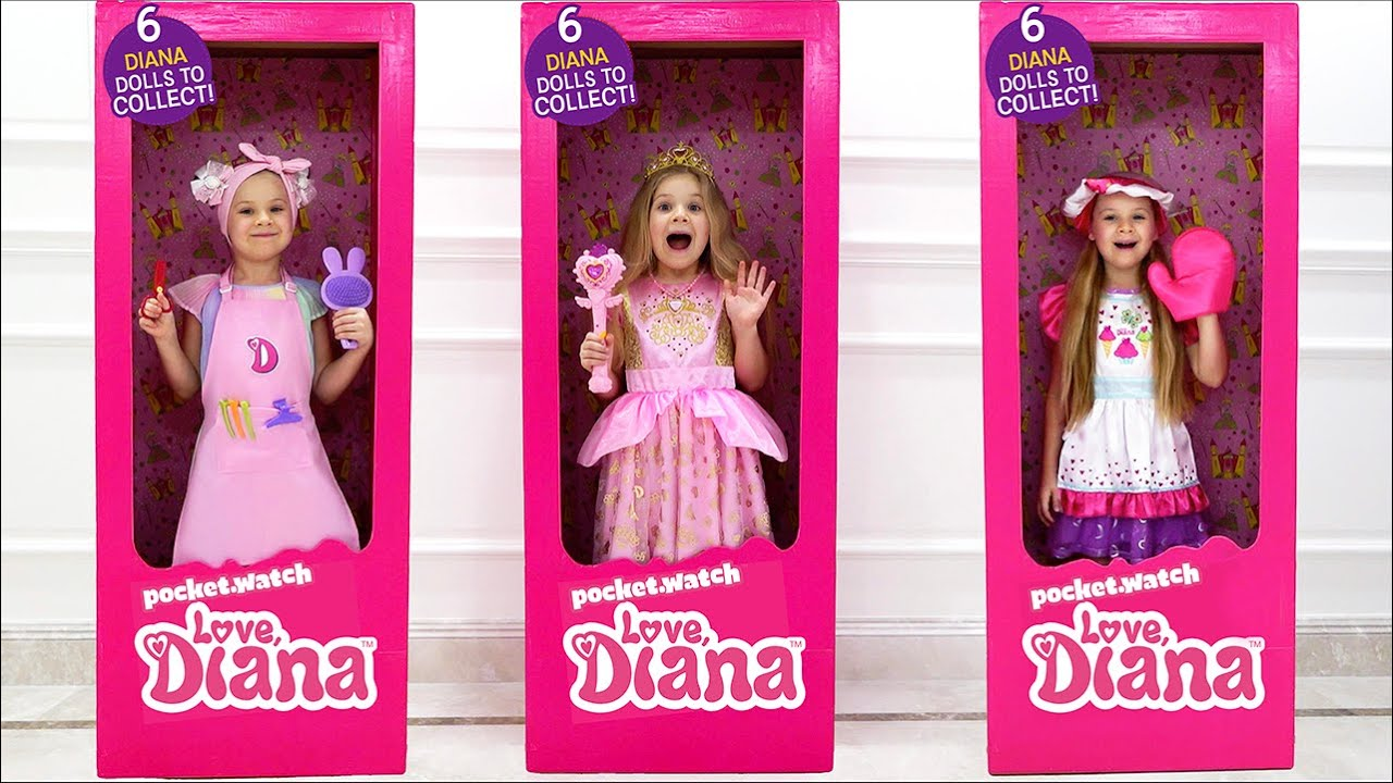 Diana Becomes a Doll
