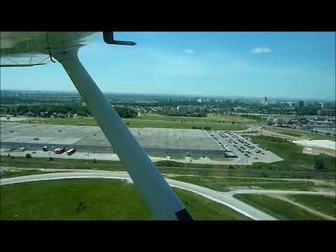 Toronto Downsview Take off and Aerial View