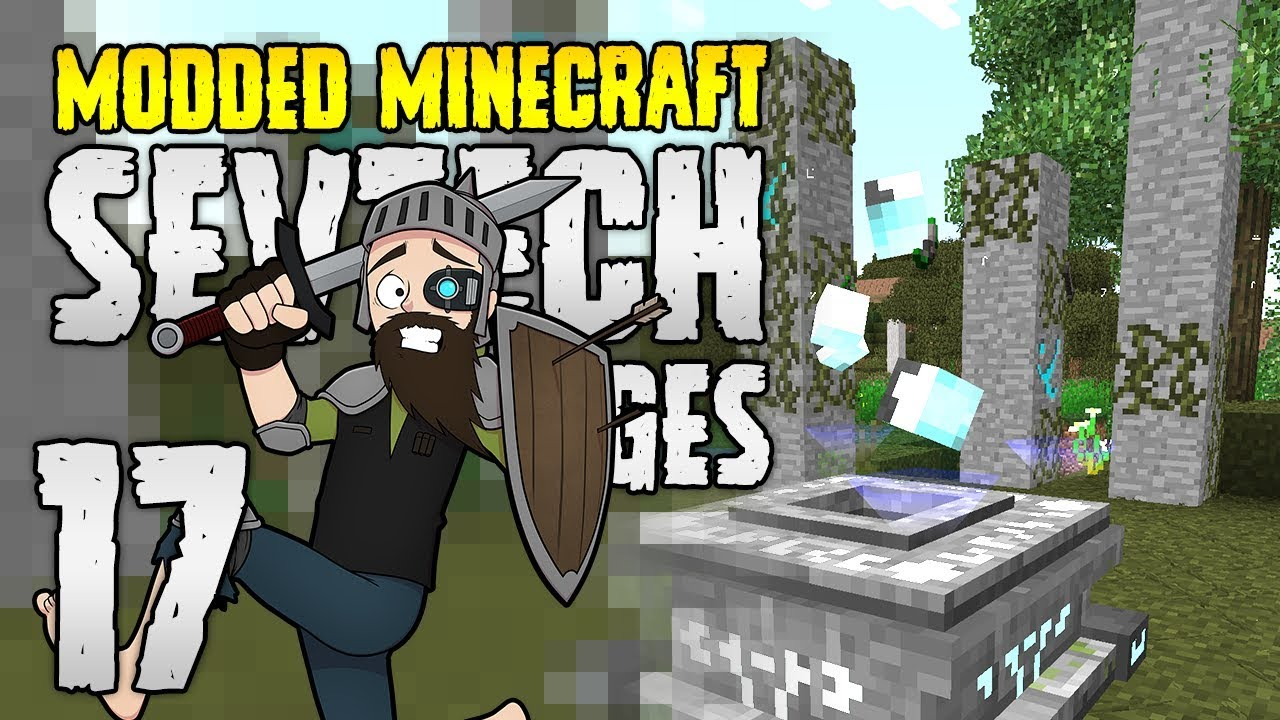 Minecraft SevTech: Ages | 17 | A New DIMENSION! | Modded Minecraft 1 12 2