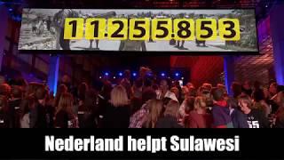 Nederland helpt Sulawesi - BEDANKT!