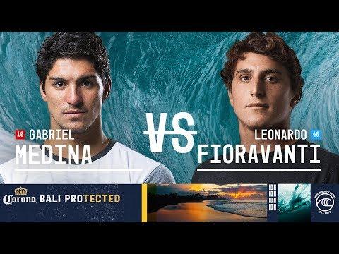 Gabriel Medina vs. Leonardo Fioravanti - Round of 32, Heat 13 - Corona Bali Protected 2019