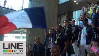 Retour en France des athlètes des JO / Roissy CDG (95) - France 23 août 2016