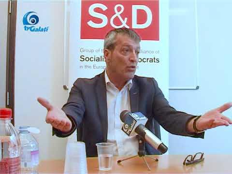 Conferinta de presa europarlametar Edouard Martin 18 05 2018