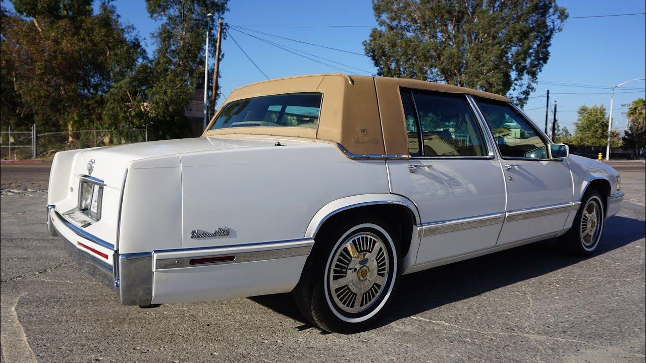 1 Owner 1991 Cadillac Sedan Deville Low Mile Car Exterior