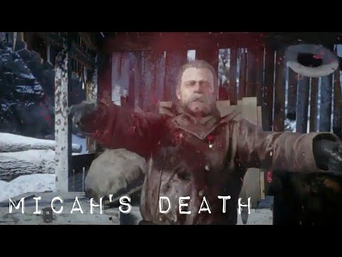 Red Dead Redemption 2: Micah's Death Scene