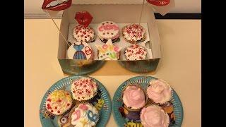 Cook with me/Cupcakes/Вкусный подарок своими руками