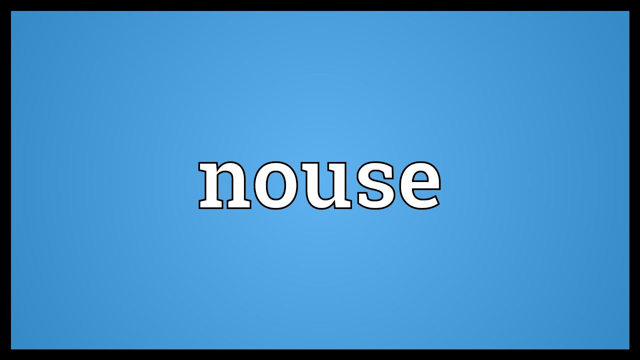 Nouse Meaning - YouTube