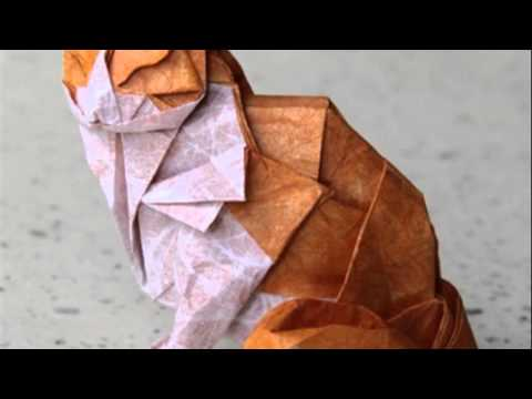 origami cat - YouTube - photo#45