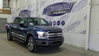 2018 Ford F-150 SuperCrew King Ranch W/ 5.0L V8 Overview | Boundary Ford