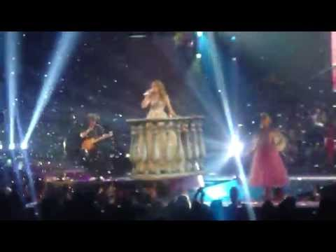 Taylor Swift--Love Story. Edmonton, Speak Now Tour