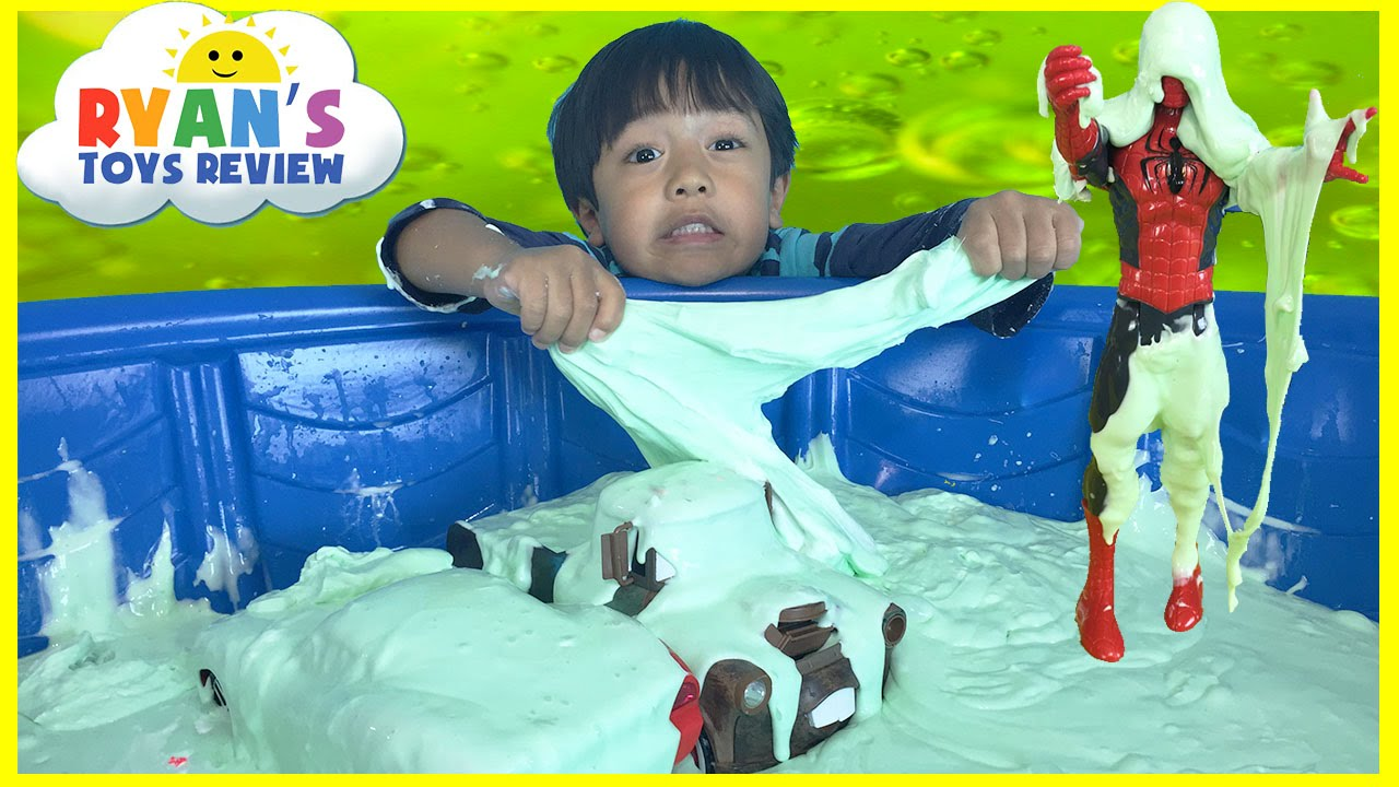 How To Make Giant Slime Goo Easy Science Experiment For