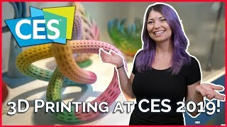 3D Printers at CES 2019 - Polymaker, Raise3D, and Kodak! - TekThing