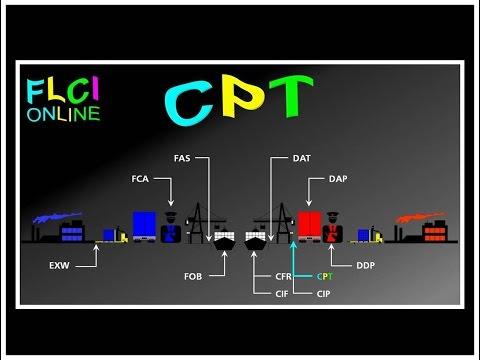 CPT Carriage Paid To | Transport Payé Jusqu'à | QCM Incoterms | Quizz Import Export