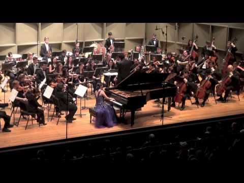 """Liebermann """"Concerto for Piano and Orchestra"""" Yiding Isabelle Niu, piano"""