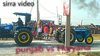 Ford 3600 vs Sonalika 60 tractor tochan
