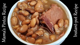 My Pinto Bean Recipe in an Instant Pot, Plum Delicious Y'all!