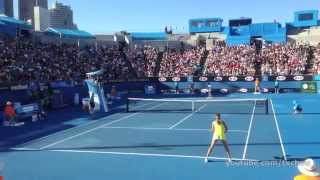 Ana Ivanovic - Forehands in Slow Motion and Point Play (HD)